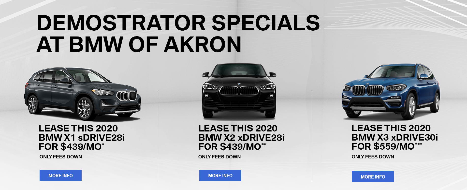 Lease Specials Near Me >> Bmw Dealership New Bmw Cars In Akron Oh Bmw Of Akron