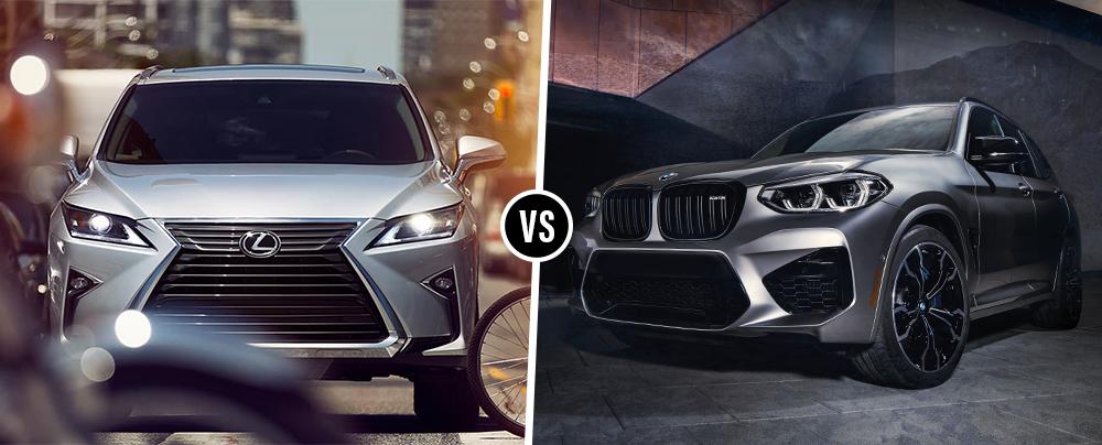 2019 BMW X3 vs  2019 Lexus RX