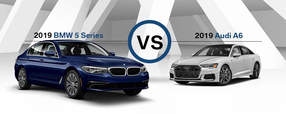 2019 BMW 5 Series vs  2019 Audi A6